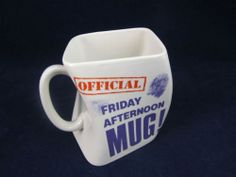Linden Official Friday Afternoon Coffee Mug in Original Box | eBay