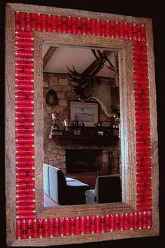 Shotgun shell mirror @Kay Richards de Klerk reminds me of you! ;)
