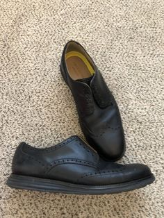 bf8b7b38379 Cole Haan grand os Men s Shoes Black leather Size Oxfords lace up Minor  wear from used Please if not happy with your purchase contact us first we  will do ...