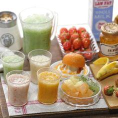 ミニチュアスムージー Miniature smoothies!