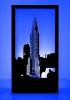 Event Prop Hire: New York Silhouette Panel 4