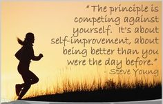 inspirational quotes steve young Inspirational Quotes: Competing Against Yourself