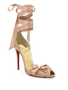 Christian Louboutin Christeriva Ankle-Wrap D'Orsay Pumps<br>