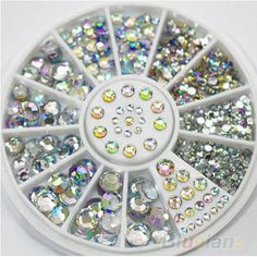 >>>Low Price Guarantee5 Sizes 400 Pcs Nail Art Tips Crystal Glitter Rhinestone 3D Nail Art Decoration Wheel5 Sizes 400 Pcs Nail Art Tips Crystal Glitter Rhinestone 3D Nail Art Decoration WheelIt is a quality product...Cleck Hot Deals >>> http://shopping.cloudns.hopto.me/32216169617.html images