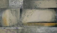 "Rincon-2009-36""x72"", encaustic,pigments on panel"