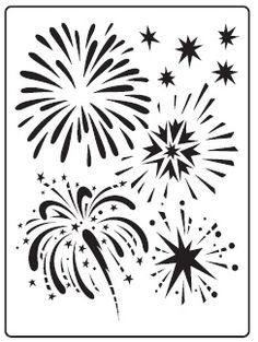 Dreamweaver Stencils - Embossing Folder - Fireworks (A2),$5.99