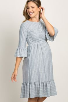 Adorable Best Women Maternity Dresses Ideas For Summer To Try Asap Maternity Dress Pattern, Cute Maternity Dresses, Maternity Dress Outfits, Maternity Nursing Dress, Stylish Maternity, Pregnancy Outfits, Maternity Wear, Modest Dresses, Maternity Fashion
