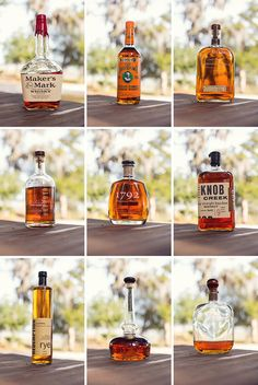 Bourbon portraits.