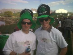 We helped our client Paddy O' Furniture brand some great oversized and attention grabbing hats for the 2012 WM Phoenix Open.