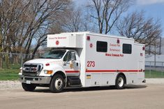 Chicago (IL) Fire Dept. Mobile Command Post 273 Ford F650