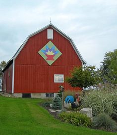 Barn Quilts and the American Quilt Trail: