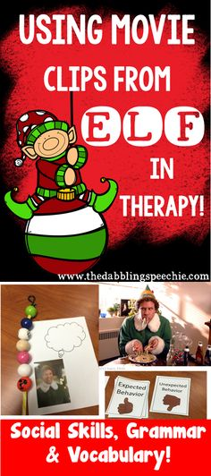 elf movie in speech therapy