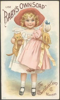 Vintage Perfume and Beauty Products Labels, Trade Cards and ads.