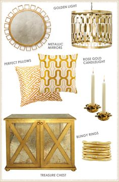 Trends Layla Grayce Loves: Gold #laylagrayce #gold #blog