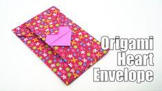 Origami Heart Envelope (Jo Nakashima) - Valentine's Day