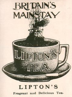 Lipton is a brand of tea & was also a supermarket chain in the U.K. before it was sold off to Argyll Foods, to allow the company to focus solely on tea. The company is named after its Scottish founder Thomas Lipton (1848-1931). Today owned by multinational consumer goods company Unilever.