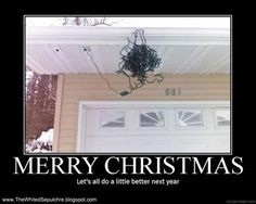 Merry Christmas -- Let's all do a little better next year