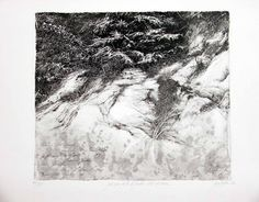 Livio Ceschin:  ...Più non sento il freddo dell'inverno, 2003, etching & drypoint. mm 340 x 400 (copperplate); mm 500 x 700 (paper) Edition of 80