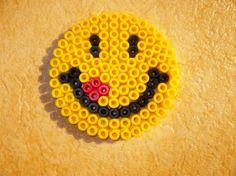 Perle Hama petit sourire  cliquez sur la photo pour voir le modèle