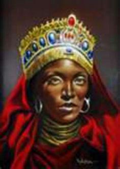 Queen of Sheba ....interesting portrait of her..