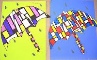 Mondrian Umbrellas
