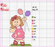 Cross Stitch For Kids, Cross Stitch Charts, Cross Stitch Patterns, Crochet Crafts, Knit Crochet, Cross Stitching, Blackwork, Tapestry, Embroidery