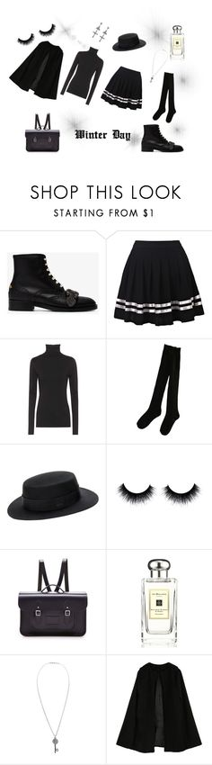 """""""WINTER DAY"""" by swanheartsdream on Polyvore featuring Gucci, Velvet, Hot Topic, The Cambridge Satchel Company, Jo Malone, Aéropostale and Givenchy"""