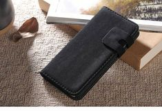 Black Soft Leather Wallet iPhone 6 & Case comes with a Free Screen Protector, Free Splash Resistant Beach Bag and Free Delivery in Australia Suede Leather, Black Suede, Soft Leather, Leather Wallet, Iphone 6, Cases, Tassel, Leather Wallets