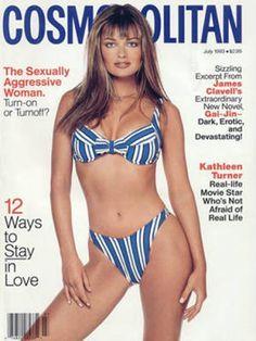 Cosmopolitan magazine, JULY 1993 Model: Paulina Porizkova Photographer: Francesco Scavullo