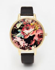 Olivia Burton | Olivia Burton Big Dial Painterly Prints Watch at ASOS