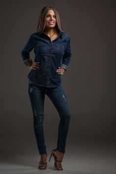 Forever in Denim Top | SexyModest Boutique