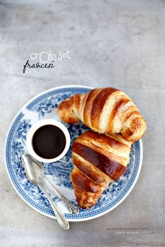 ... croissant and coffee