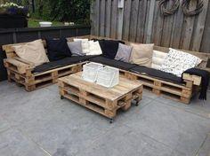 loungeset pallets