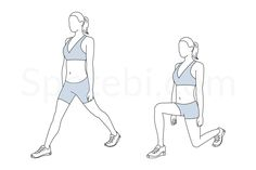 Split squat exercise guide with instructions, calories burned and muscles worked. Learn proper form, discover all health benefits and choose a workout. http://www.spotebi.com/exercise-guide/split-squat/