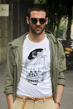How to wear a Tee. Men's fashion, street style