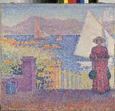 Paul Signac - à St. Tropez.
