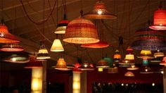 PET Lamp. Lámparas con hilo de Botellas PET #Diy #Reciclar