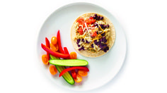 Make it a perfectly balanced plate & serve with: Guacamole Dip, Guacamole Recipe, Epicure Recipes, Bean Recipes, Breakfast Dishes, Breakfast Recipes, Breakfast Ideas, How To Make Quesadillas, Low Fat Cheese