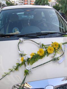 flowers papadakis  wedding car decoration  weddings-events-decor  info@flowers4u.gr
