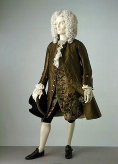 1740s formal ensemble.