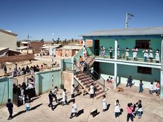 BOLIVIA Thako-Pampa - Les cours d'école à travers le monde