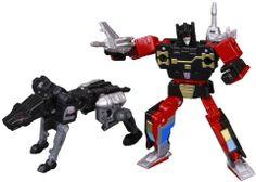 Transformers Masterpiece MP-15 Rumble & Jaguar (Ravage) Set