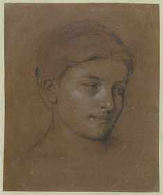 Portret van een vrouw, Edgar Degas, 1853 - 1910