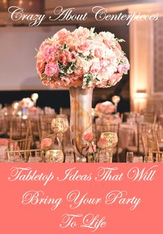 Tabletop Ideas That Will Bring Your Party To Life! Wedding reception ideas, Wedding reception inspiration, table decor, tablescapes, centerpiece, centerpieces, party decor, wedding decor, Indian wedding