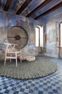 Gandia Blasco Trenzas Circular Rug | 2Modern Furniture & Lighting