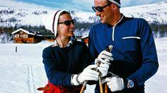 Kronprinsparet ca 1969 i Sikkilsdalen