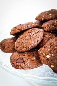 Biscuit Vegan, Cookie Vegan, Cookies Et Biscuits, Biscuits Sec, Cake Factory, Healthy Cooking, Biscotti, Deserts, Food Porn