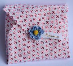 doopsuiker traktatie koekje in stofwikkel by de pretmeloen, via Flickr