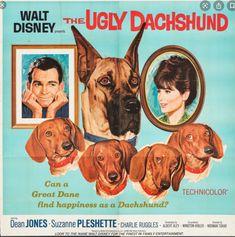 Disney Dogs, Walt Disney, Disney Live, 60s Films, Dean Jones, Suzanne Pleshette, Action Movies, Disney Presents
