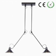Retro Vintage Loft Industrial chandelier ceiling lamp simple shop